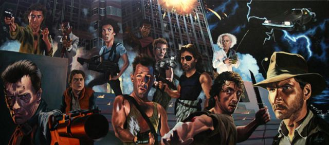 Incredible Movie Paintings