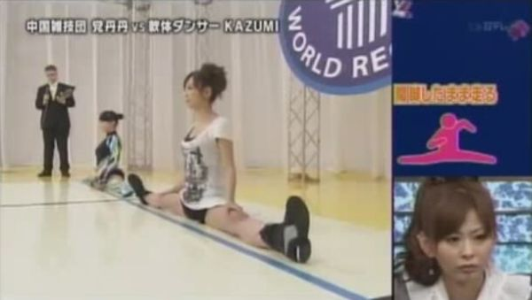 Only in Japan: Walking Splits Race [VIDEO]