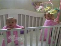 Baby Twins Sneeze at the Exact Same Time