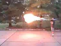 The Flamethrower Trombone