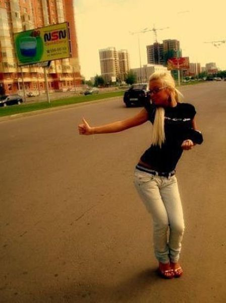 Russian Chicks and Guys Posing for Social Network Pics