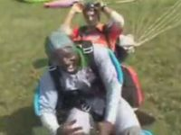 Skydiving Made This Guy the Happiest Guy on Earth