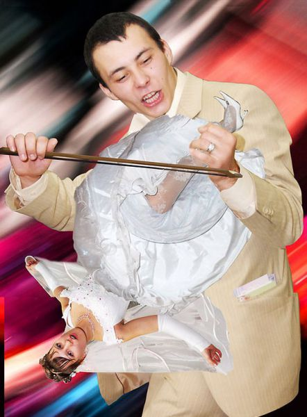funny photoshopped photos. 4 Funny Photoshopped Wedding Pictures