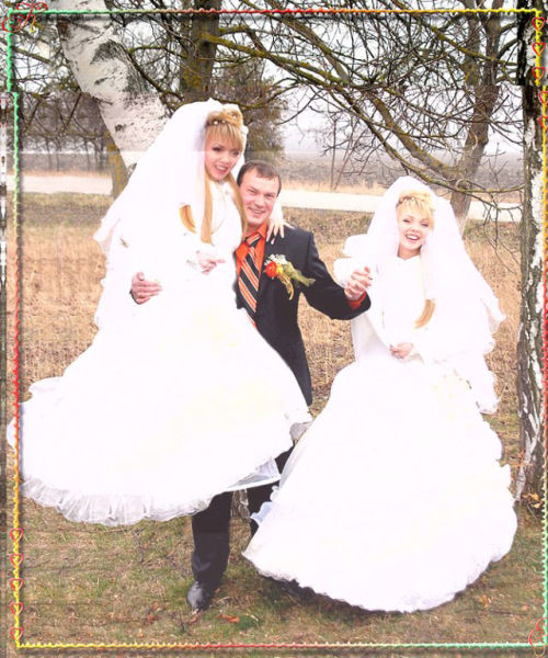 Funny Photoshopped Wedding Pictures
