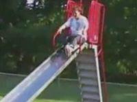 Rollerblade on Slide Fail