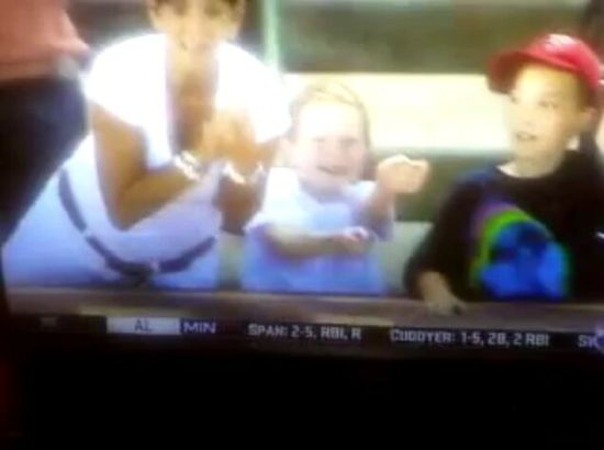 Greedy Woman Steals Foul Ball from Little Girl [VIDEO]