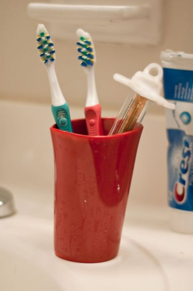 A Unique Toothbrush
