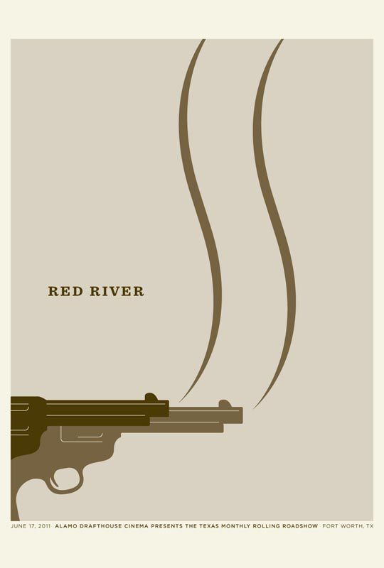 Creative Posters for Texas Movies