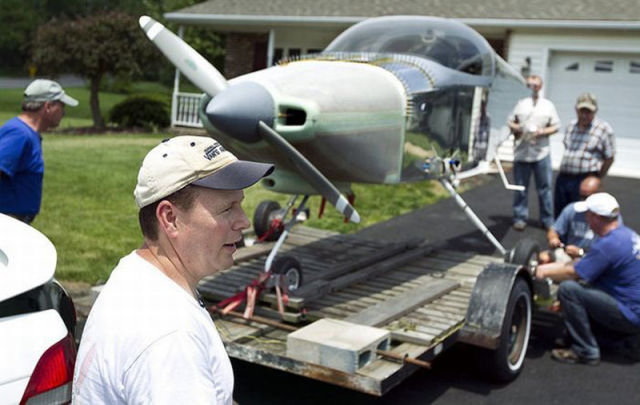 Homemade Airplane