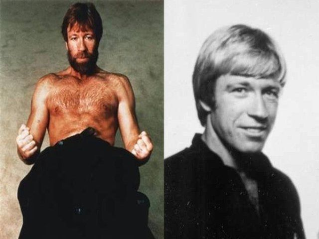 Famous Bearded People Without Their Facial Hair