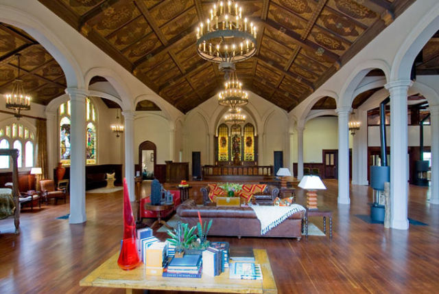 A Church Converted to a House