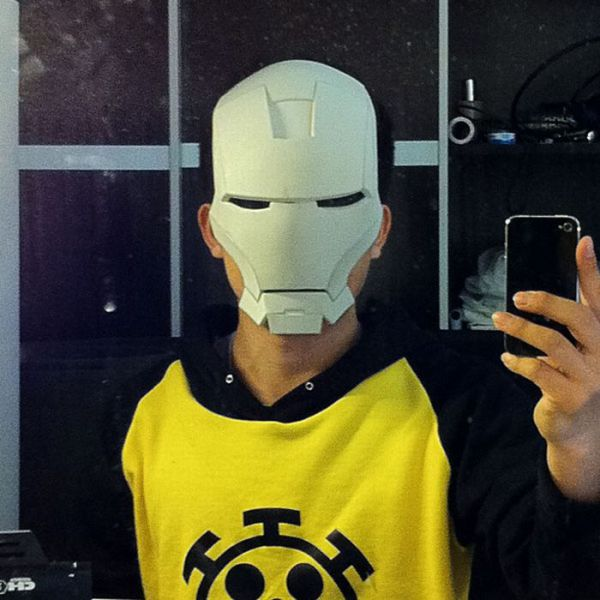 Home Made Iron Man Costume