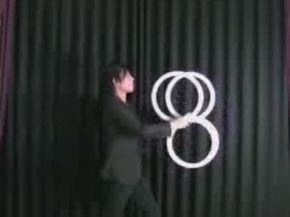 Awesome Illusion Performance with Rings