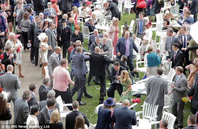 Big Drunken Brawl at Royal Ascot