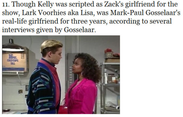 "Unbelievable Truths About ""Saved by the Bell"""