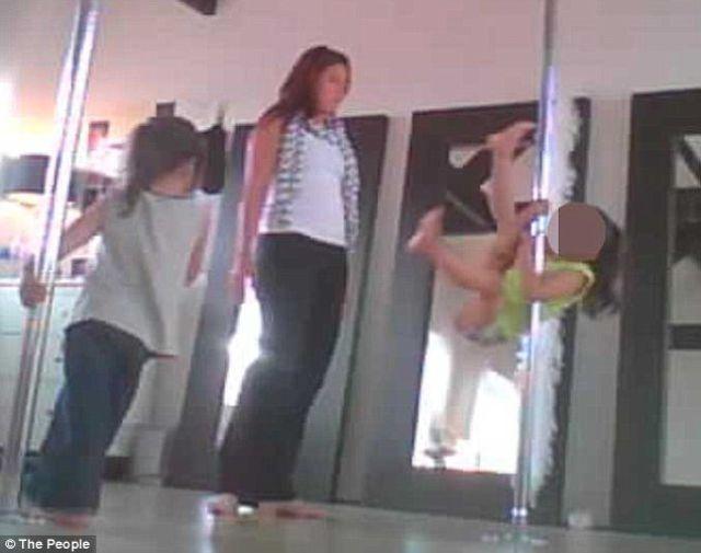 Uncanny Factoid: Pole Dancing Babies
