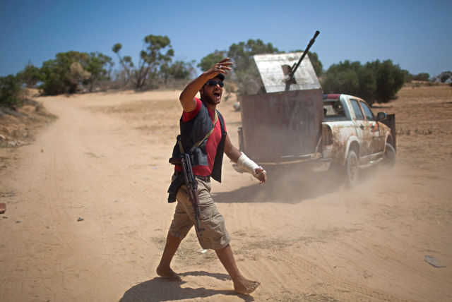 Unique Madmax Type Libyan Rebel Fighter Weapons