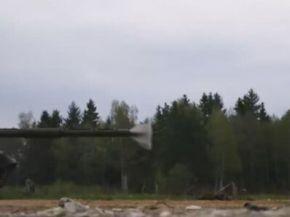 T90 Tank Shot at 18,000 fps