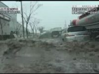 New Released Video from within Car That Got Caught in Tsunami