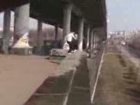 5-Meters High Double Back Flip