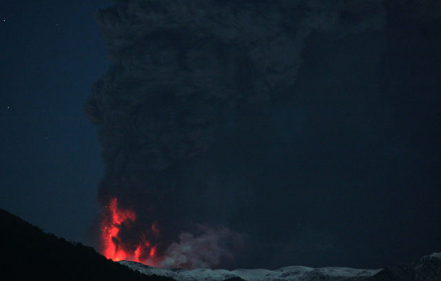 The Eruption of the Chilean Volcano Puyehue