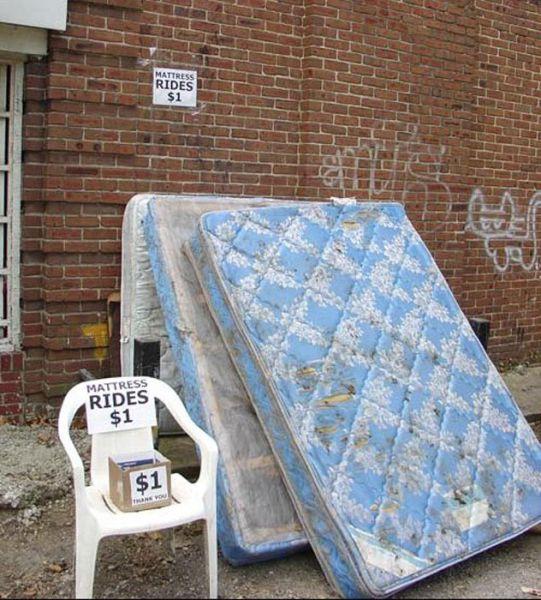 Homeless Entrepreneur Offers Unique Service