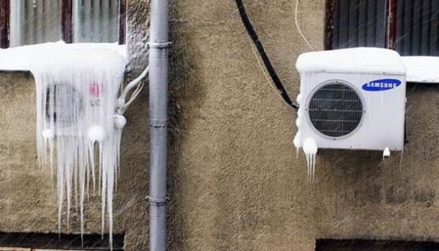 Funny Pictures with Air Conditioners
