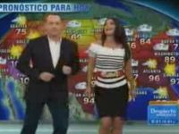 Tom Hanks Dances while Doing the Weather
