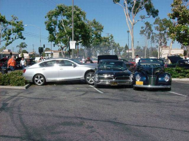 A Crash Of Classic Cars