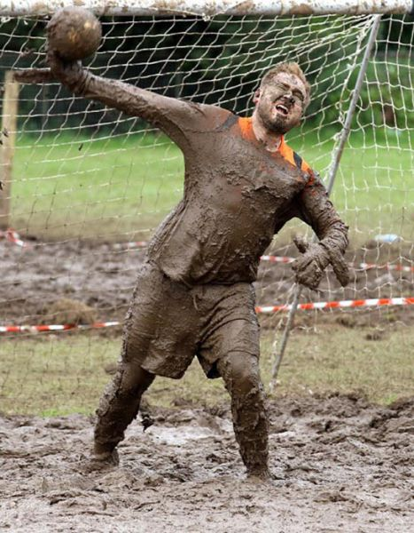 Swamp Soccer: Cool or Stupid?