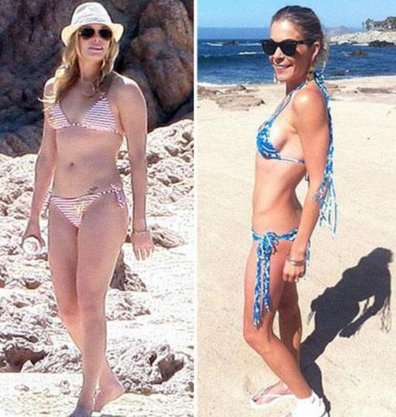 Slimmed Down Celebrities