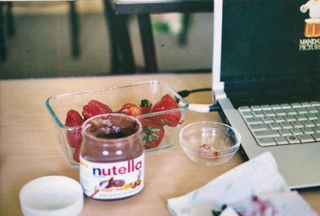 Food Porn with Nutella