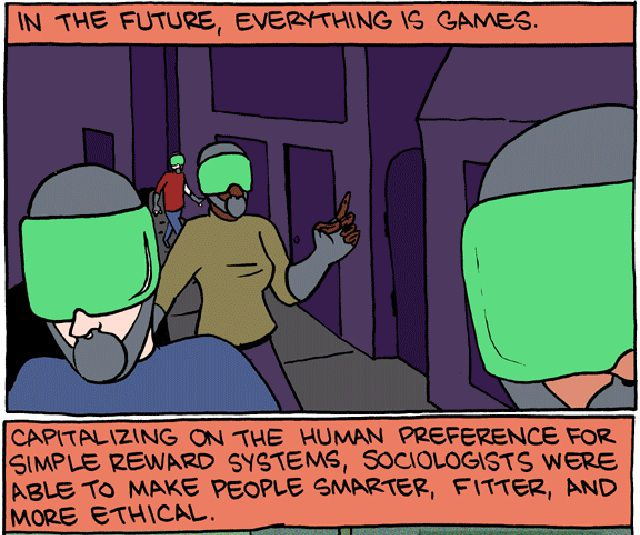 Subversive Futuristic Comic Strip
