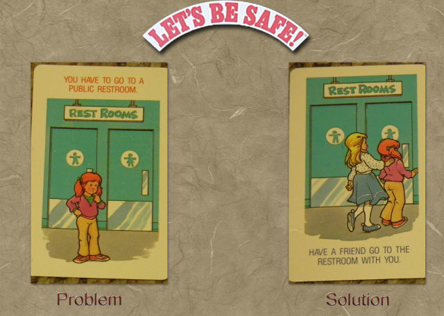 A Safety Game for Kids from the 80