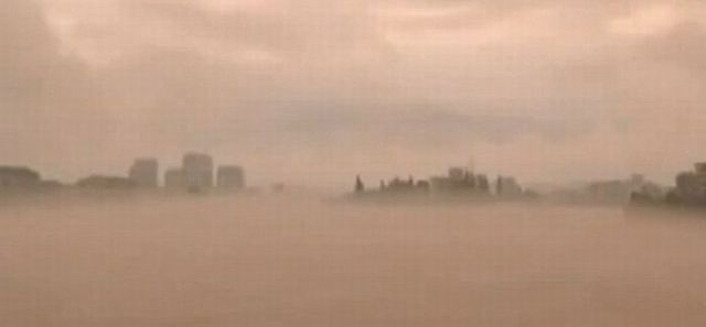 Ghostly City Appears from Nowhere
