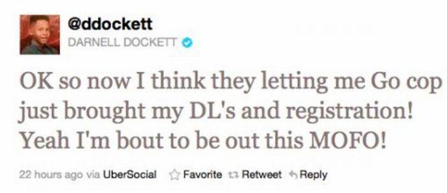 Darnell Dockett Owns the Police