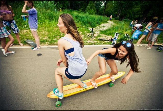 Girls on Skates