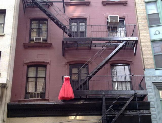 Only in New York…