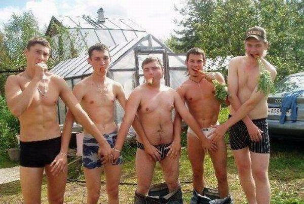 Men Having Some Fun