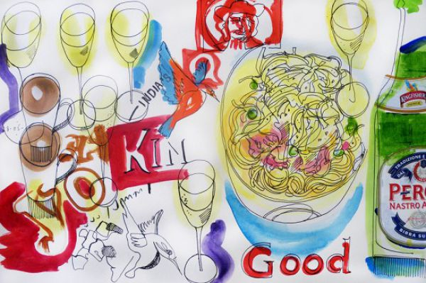 Uncanny Factoid: Food Art Diary