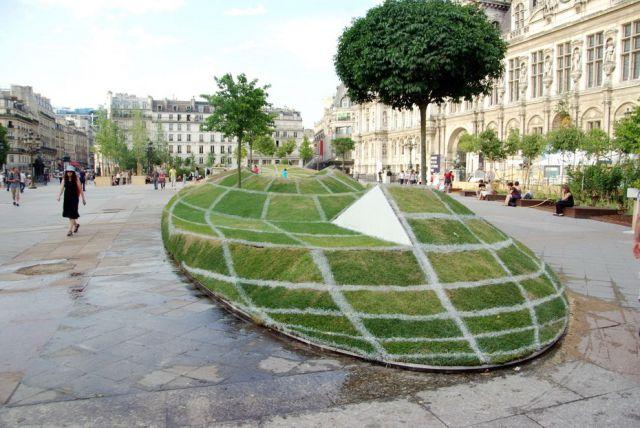Amazing 3D Illusion in Paris