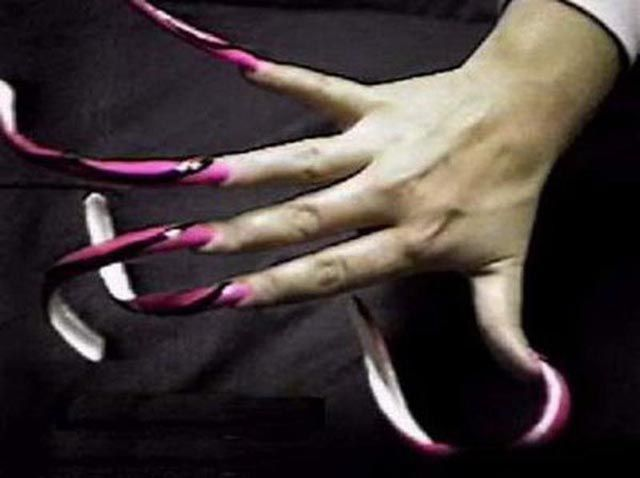 Disturbingly Long Fingernails
