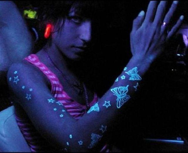 Blacklight Tattoos