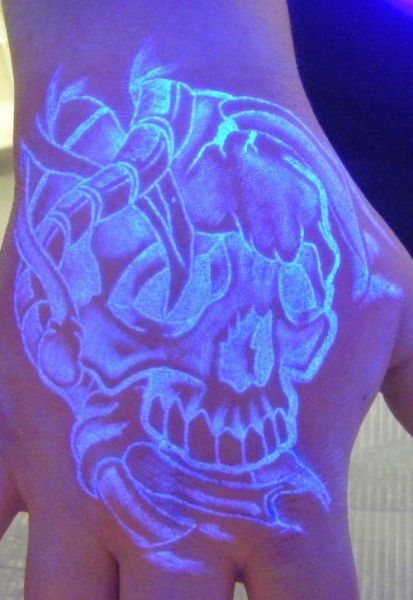 Blacklight Tattoos
