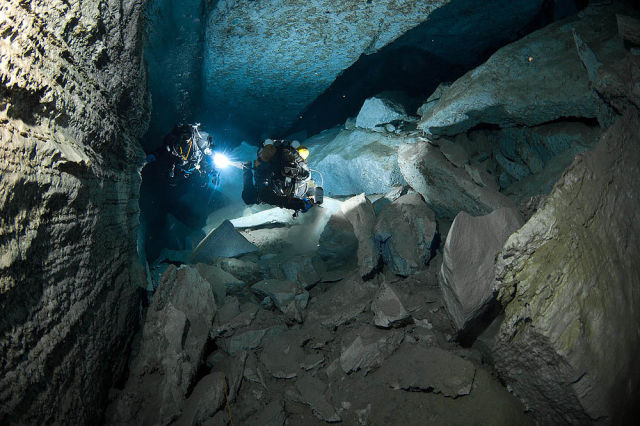 Mesmerizing Underwater Cave Photos