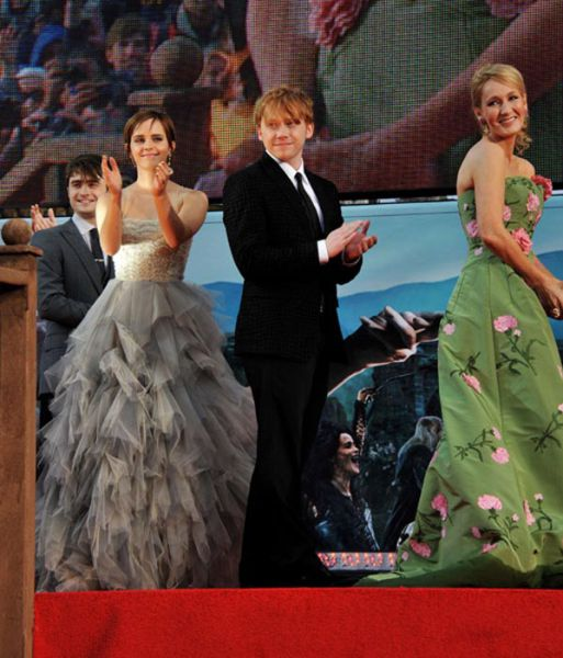 Harry Potter Stars at First and Last Movie Premieres