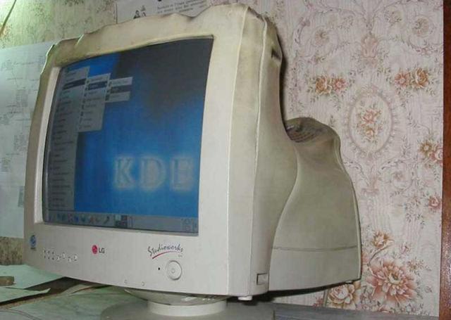 Old Computer Displays Were More Resistant