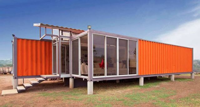A Container House