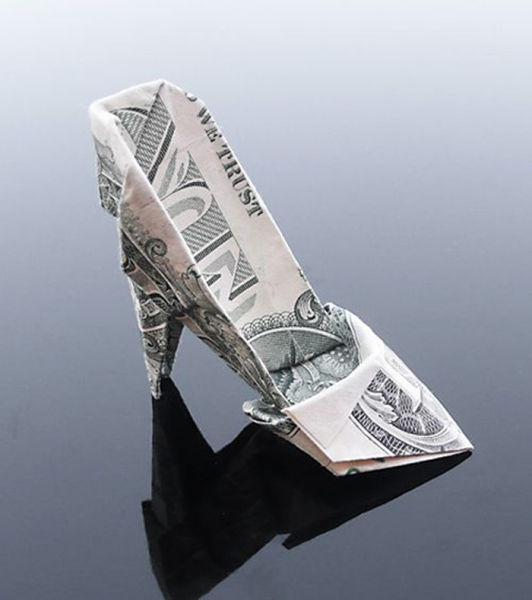 Gorgeous Dollar Bill Origami Art