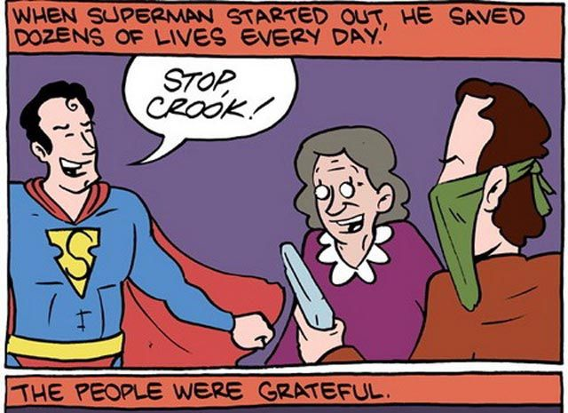 Hilarious Superman Comic